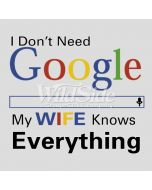 Perstransfer: I don't need Google, my wife W1