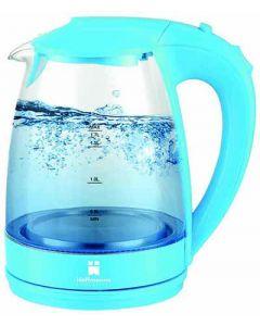Waterkoker met LED babyblauw