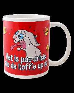 Funny mok Het is pas crisis ...