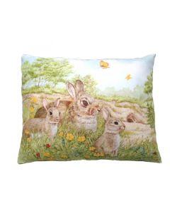 Kussen konijndesign