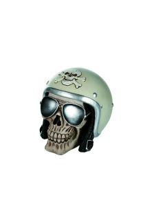 Skull spaarpot motorrijder