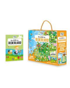 Puzzel Nederland met boekje