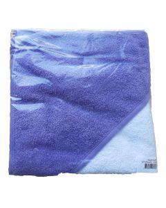 Babycape white/purple
