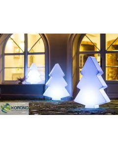 Decoratie kerstboom met LED 60 cm hoog