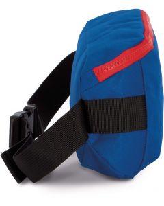 Handtas met moderne sluiting in een contrasterende kleur