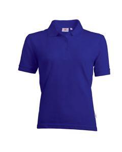 Ladies Basic polo Royal blue