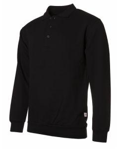 Polo sweater black