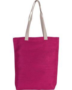 Shopper van jute/katoen colours