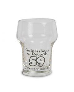 Mini bierglas Guinessbook of records
