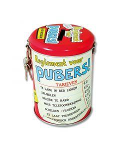 Spaarpot Pubers!
