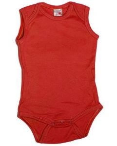 Logostar sleeveless body red