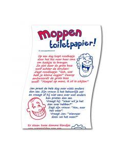Toiletpapier Moppenrol