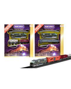 Treinset classic Loc met 1 goederenwagon