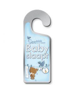 Deurhanger Sssttt baby slaapt - it's a boy