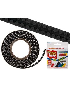 Flexibel bouwsteentape zwart
