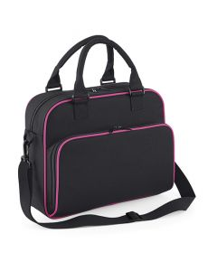 Junior dance bag, black/fuchsia