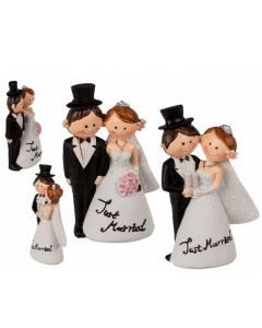 Decoratiefiguur bruidspaar