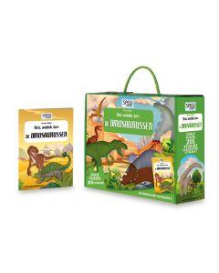 Dinosauruspuzzel met boekje