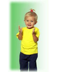 ETS Baby t-shirt geel
