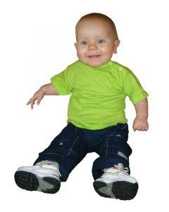 ETS kids T-shirt lime green