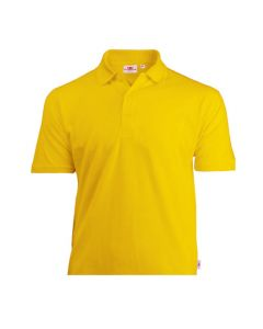Kids basic polo Yellow