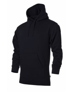 Hooded sweater colours black