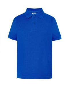 Kids polo royal blue