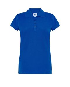 Polo pique lady royal blue