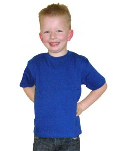 ETS kids t-shirt royal blue 140