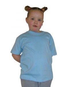 ETS kids t-shirt lichtblauw maat 164