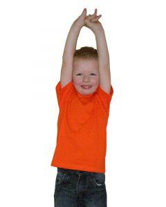 ETS Baby t-shirt oranje