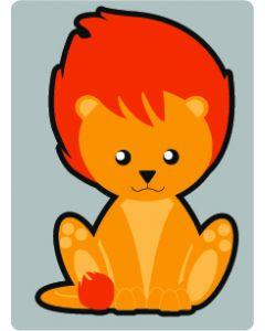 Perstransfer: Leeuwtje 10 cm
