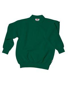 Kids heavy sweater bottle green
