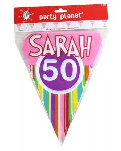 Vlaggenlijn Sarah